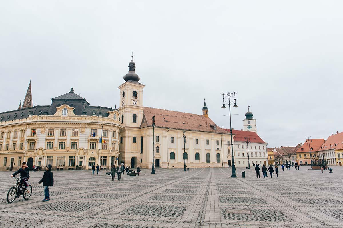 Sibiu, in Transilvania