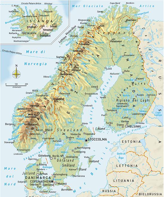 La penisola scandinava