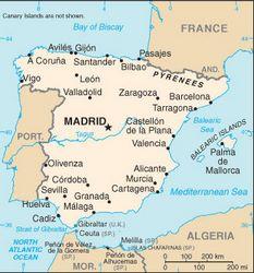 Cartina Spagna Toledo.Toledo Spagna